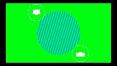 【動画フリー素材】タイトルアニメーション03 (shape animation)